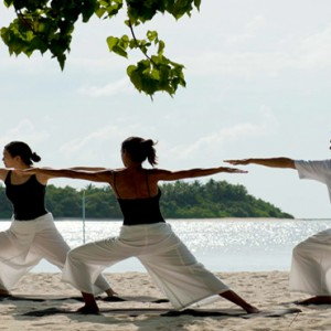 Kuramathi Maldives - Luxury Maldives Honeymoon Packages - Yoga
