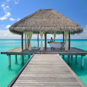 Kuramathi Maldives - Luxury Maldives Honeymoon Packages - spa exterior