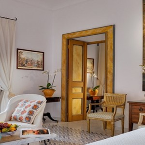 Le Sirenuse - Luxury Italy Honeymoon Packages - Junior Suite Superior Sea View