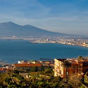 Le Sirenuse - Luxury Italy Honeymoon Packages - aerial view of location