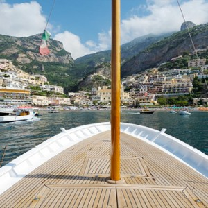 Le Sirenuse - Luxury Italy Honeymoon Packages - boat ride