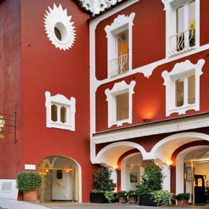 Le Sirenuse - Luxury Italy Honeymoon Packages - hotel exterior