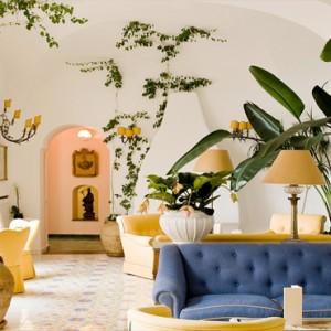 Le Sirenuse - Luxury Italy Honeymoon Packages - lobby1