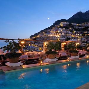 Le Sirenuse - Luxury Italy Honeymoon Packages - pool
