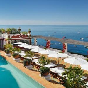 Le Sirenuse - Luxury Italy Honeymoon Packages - pool1