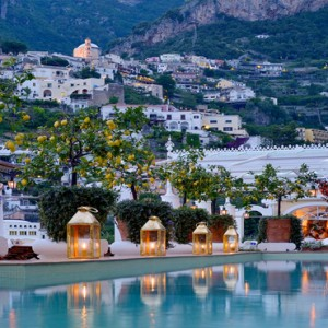 Le Sirenuse - Luxury Italy Honeymoon Packages - pool2
