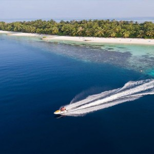 Lily Beach Resort and Spa at Huvahendhoo - Luxury Maldives Honeymoon Packages - Jet ski