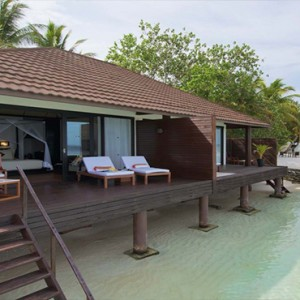 Lily Beach Resort and Spa at Huvahendhoo - Luxury Maldives Honeymoon Packages - Lagoon Villa exterior