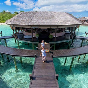 Lily Beach Resort and Spa at Huvahendhoo - Luxury Maldives Honeymoon Packages - Tamara Spa