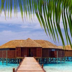 Lily Beach Resort and Spa at Huvahendhoo - Luxury Maldives Honeymoon Packages - Tamara Spa view