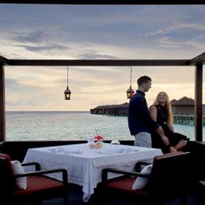 Lily Beach Resort and Spa at Huvahendhoo - Luxury Maldives Honeymoon Packages - Tamarind restaurant