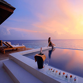 Lily Beach Resort and Spa at Huvahendhoo - Luxury Maldives Honeymoon Packages - thumbnail1