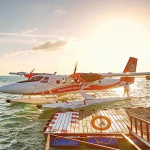 Lux South Ari Atoll - Luxury Maldives Honeymoon Packages - Arrival Jetty