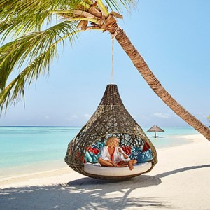 Lux South Ari Atoll - Luxury Maldives Honeymoon Packages - Beach hammock