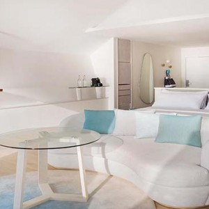 Lux South Ari Atoll - Luxury Maldives Honeymoon Packages - Romantic Pool Water Villa interior