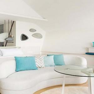 Lux South Ari Atoll - Luxury Maldives Honeymoon Packages - Romantic Pool Water Villa interior1