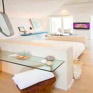 Lux South Ari Atoll - Luxury Maldives Honeymoon Packages - Romantic Pool Water Villa overview