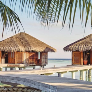 Lux South Ari Atoll - Luxury Maldives Honeymoon Packages - overwater spas exterior