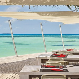 Lux South Ari Atoll - Luxury Maldives Honeymoon Packages - restaurant
