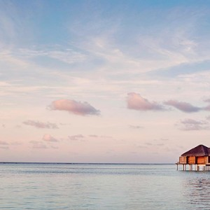 Lux South Ari Atoll - Luxury Maldives Honeymoon Packages - view of spa exterior