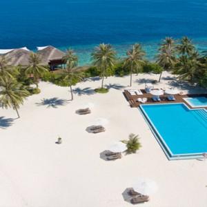 Maafushivaru - Luxury Maldives Honeymoon Packages - Aerial view