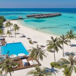 Maafushivaru - Luxury Maldives Honeymoon Packages - Aerial view1
