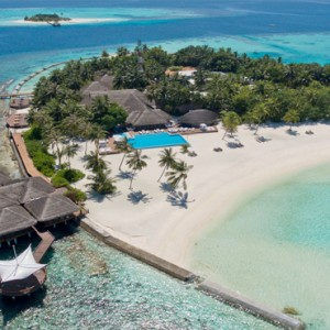 Maafushivaru - Luxury Maldives Honeymoon Packages - Aerial view2