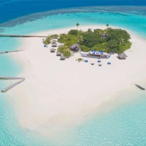 Maafushivaru - Luxury Maldives Honeymoon Packages - Lonubo Maldives (Private Island) aerial view