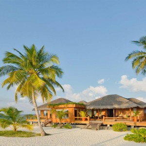 Maafushivaru - Luxury Maldives Honeymoon Packages - Spa exterior