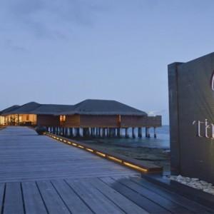 Maafushivaru - Luxury Maldives Honeymoon Packages - The Spa entrance