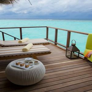 Maafushivaru - Luxury Maldives Honeymoon Packages - Water Villas Sun Deck