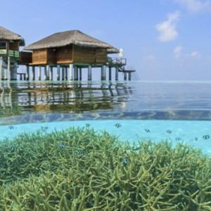 Maafushivaru - Luxury Maldives Honeymoon Packages - Water Villas exterior