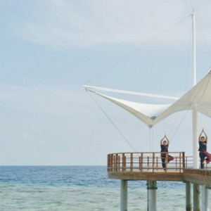 Maafushivaru - Luxury Maldives Honeymoon Packages - Yoga