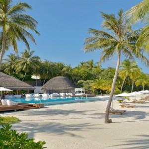 Maafushivaru - Luxury Maldives Honeymoon Packages - beach villa view