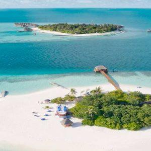 Maldives Honeymoon Packages Maafushivaru Aerial View1