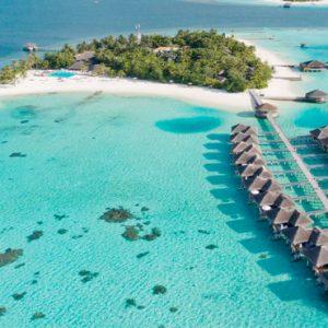 Maldives Honeymoon Packages Maafushivaru Aerial View2