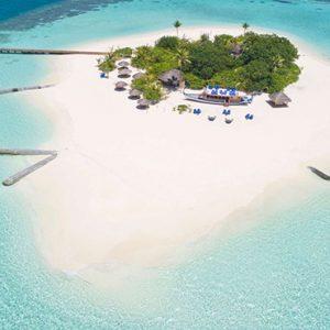 Maldives Honeymoon Packages Maafushivaru Aerial View3