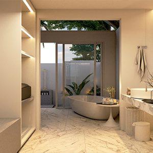 Maldives Honeymoon Packages Maafushivaru Duplex Pool Villas