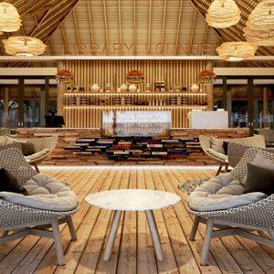 Maldives Honeymoon Packages Maafushivaru Library Lounge