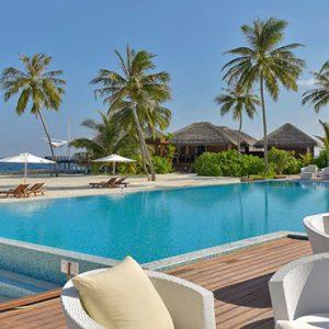 Maldives Honeymoon Packages Maafushivaru Pool