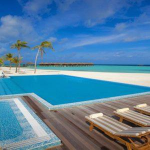 Maldives Honeymoon Packages Maafushivaru Pool1