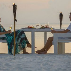 Maldives Honeymoon Packages Maafushivaru Private Dining