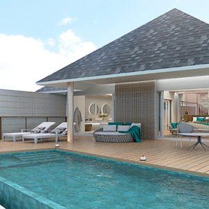 Maldives Honeymoon Packages Maafushivaru Water Pool Villa