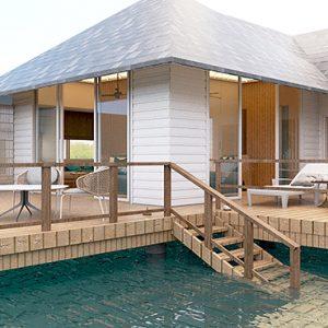 Maldives Honeymoon Packages Maafushivaru Water Villa