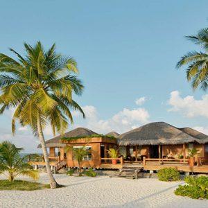 Maldives Honeymoon Packages Maafushivaru Resort Exterior