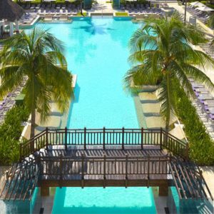 Mexico Honeymoon Packages Paradisus Playa Del Carmen La Perla Pool