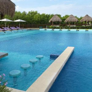 Mexico Honeymoon Packages Paradisus Playa Del Carmen La Perla Pool 2