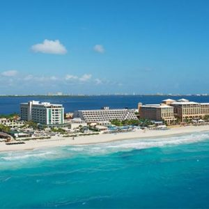Mexico Honeymoon Packages Secrets The Vine Cancun Aerial View