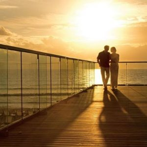 Mexico Honeymoon Packages Secrets The Vine Cancun Couple On Bridge
