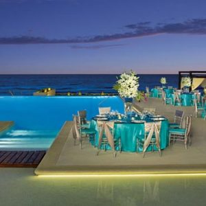 Mexico Honeymoon Packages Secrets The Vine Cancun Pool Lounge Party1